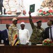 Sudanese celebrate transition to civilian rule