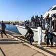 74 migrants rescued off Libyan coast, 110 others sent back