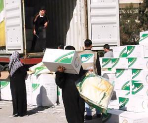 الحملة السعودية تستكمل توزيع كسوة الشتاء على سوريي بيروت