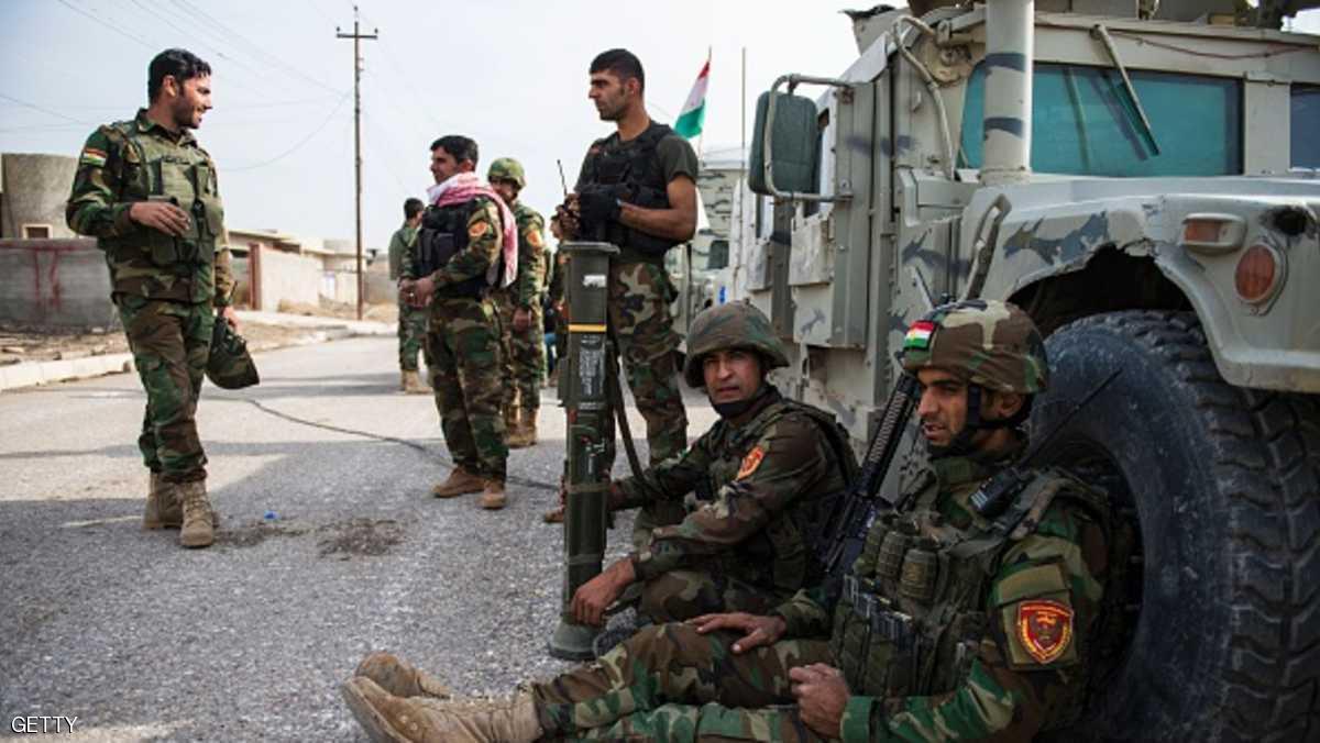 """كركوك.. نشر آلاف البشمركة تحسبا لـ""""هجوم عراقي"""""""