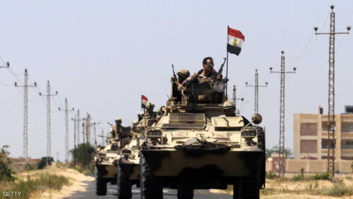 مصر.. عملية عسكرية تقضي على بؤرة إرهابية في سيناء