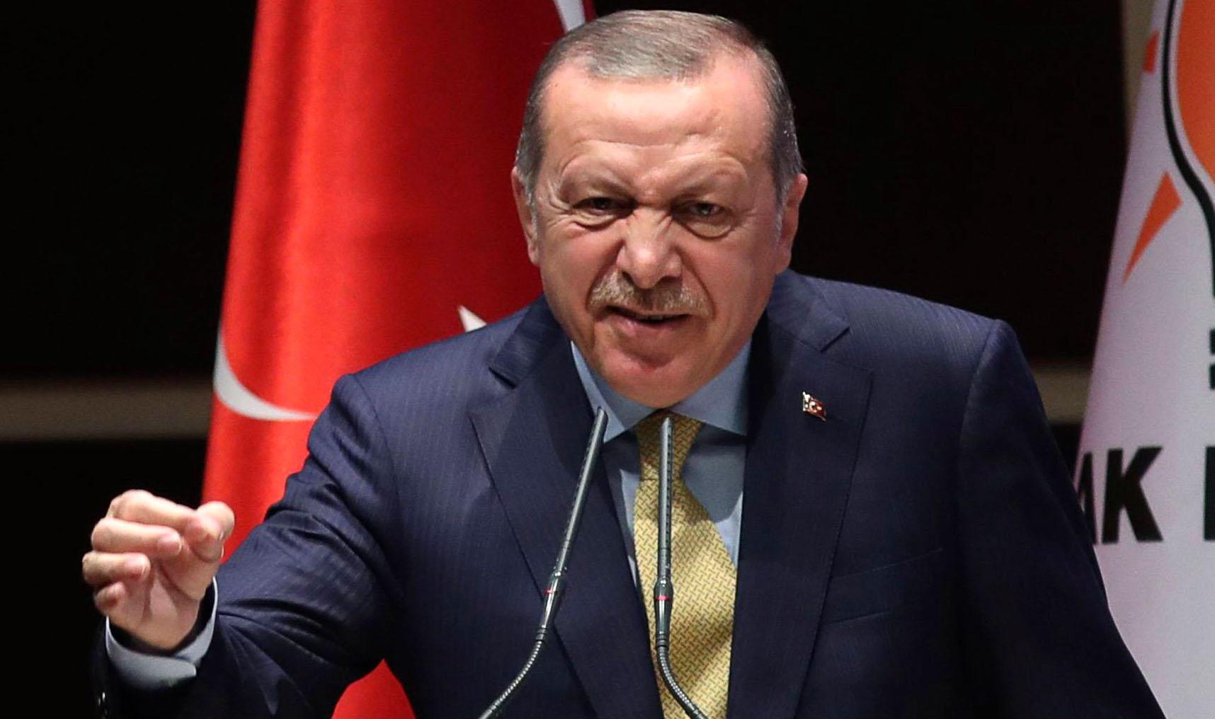 أردوغان: سنواجه كل من يسعى لتدمير سوريا