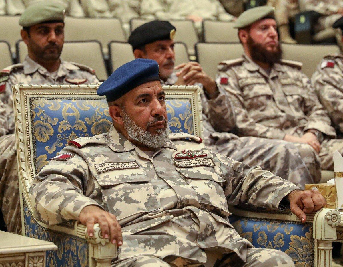 رئيس أركان الجيش القطري في السعودية!