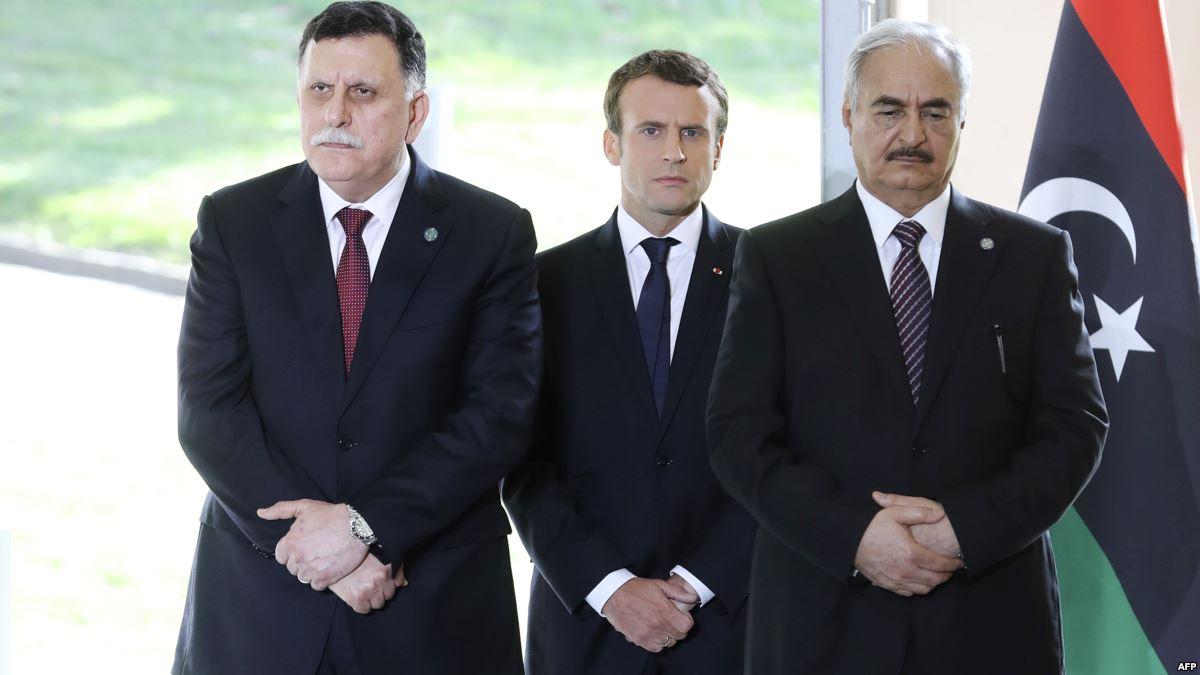 ماكرون يحاول حلّ الأزمة الليبية المستعصية برقم سحري