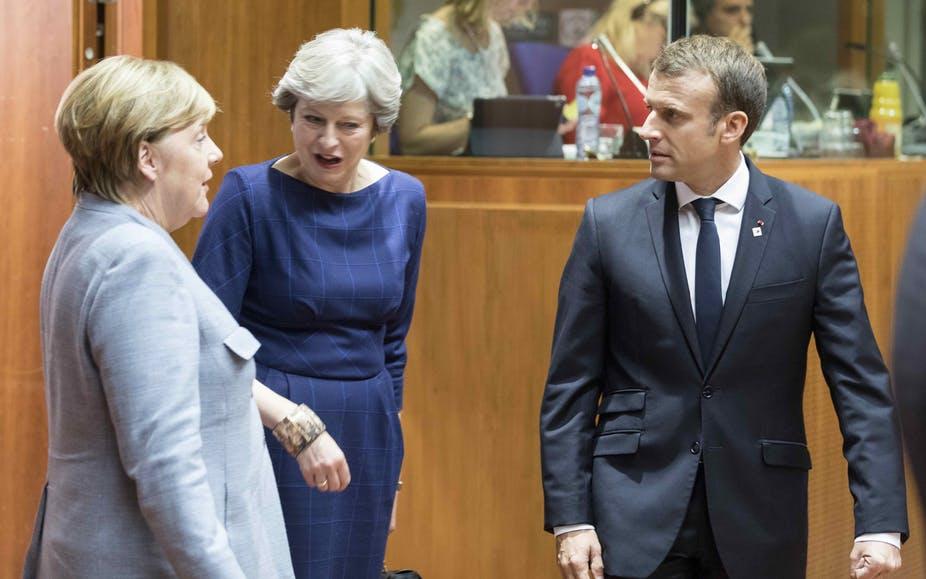 زعماء بريطانيا وفرنسا وألمانيا يعلنون في بيان مشترك اتفاقهم على مواصلة تطبيق الصفقة النووية مع إيران