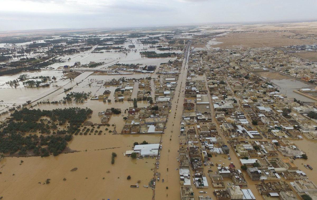 """الأرصاد السعودية تحول """"ميكونو"""" لإعصار مداري من الدرجة الأولى"""