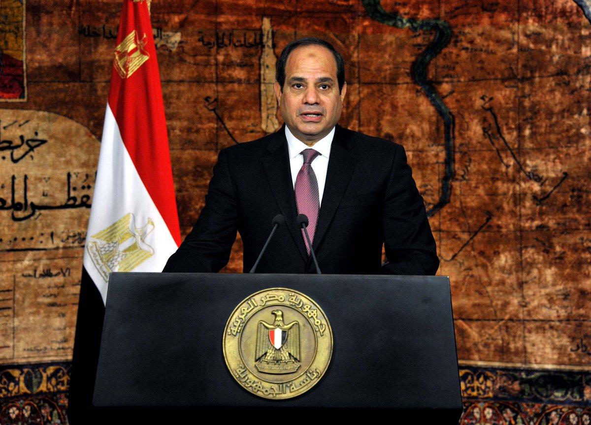 السيسي يؤدي اليمين الدستورية لولاية ثانية أمام مجلس النواب