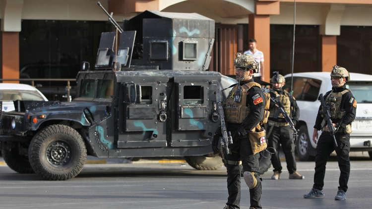 """الأمن العراقي يطوق مقر """"حزب الله"""" بعد مواجهات شرقي بغداد (صور)"""
