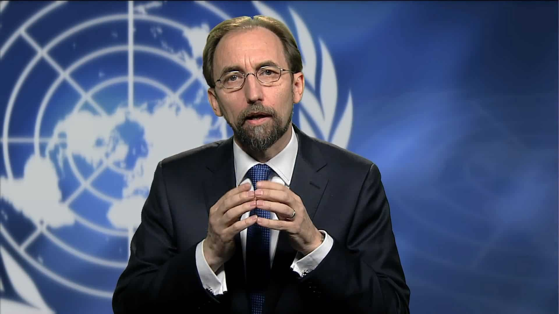 مفوض الأمم المتحدة لحقوق الإنسان زيد رعد الحسين، أرشيف