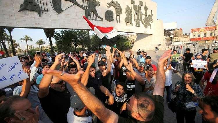 انطلاق مظاهرات ضخمة في بغداد ومدن جنوب العراق