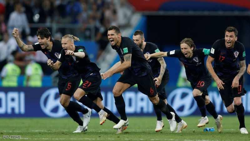 كرواتيا تقهر إنجلترا وتبلغ نهائي المونديال للمرة الأولى في تاريخها