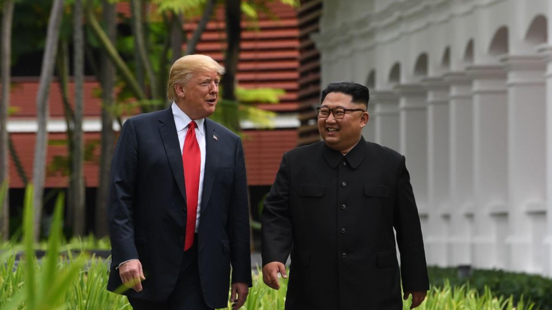 """رسالة """"عظيمة"""" و""""حرب في آسيا"""" عند هذه الحالة.. أبرز تصريحات ترامب عن كيم"""
