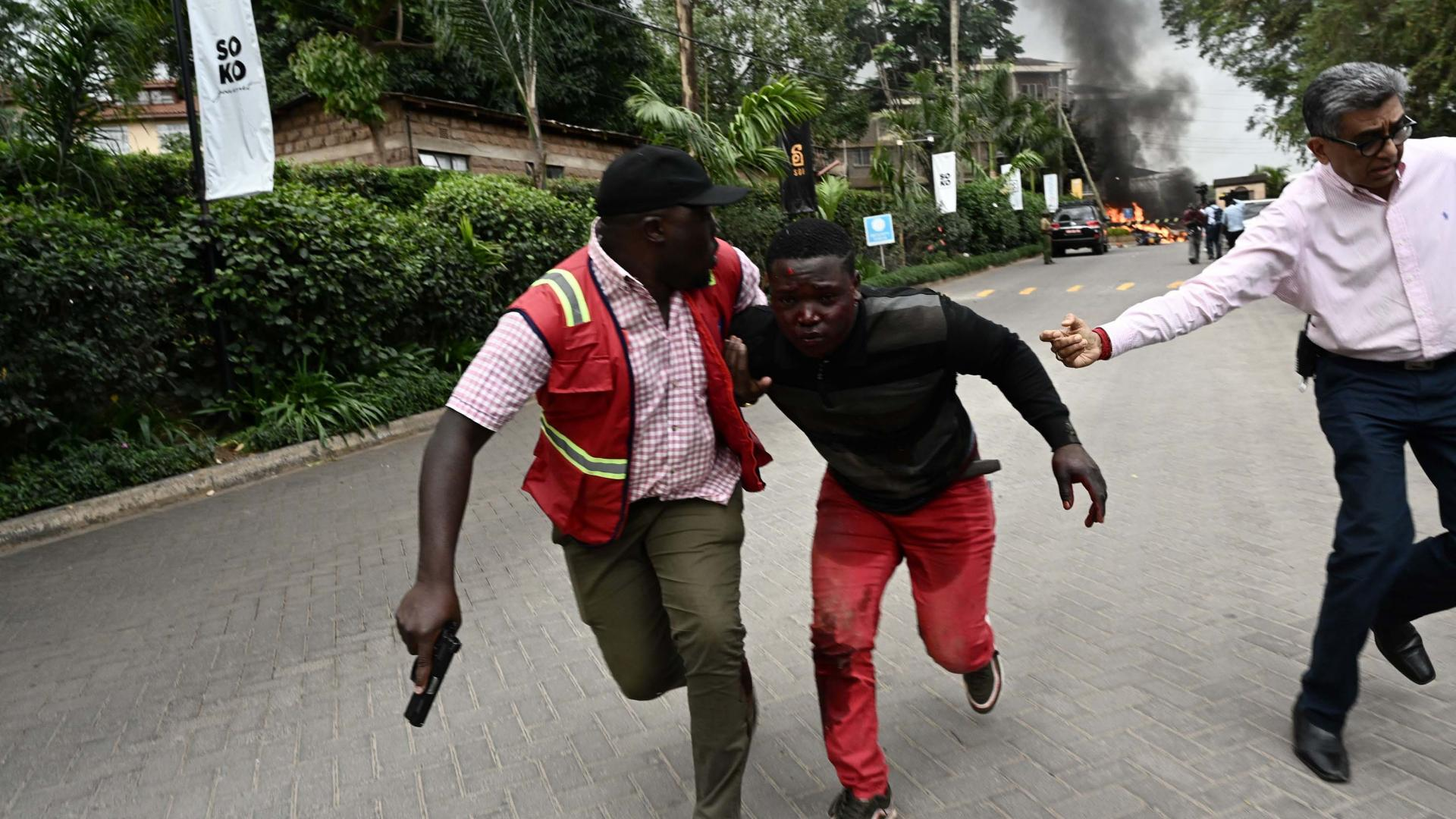 انفجار وإطلاق نار في العاصمة الكينية.. وقوات الأمن تتدخل