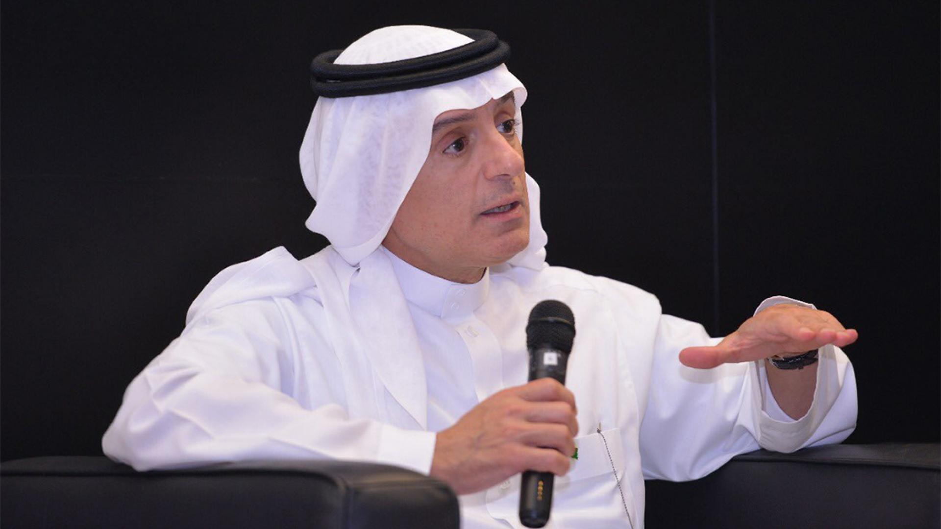 الجبير من الإمارات: قيادة وسيادة السعودية خط أحمر