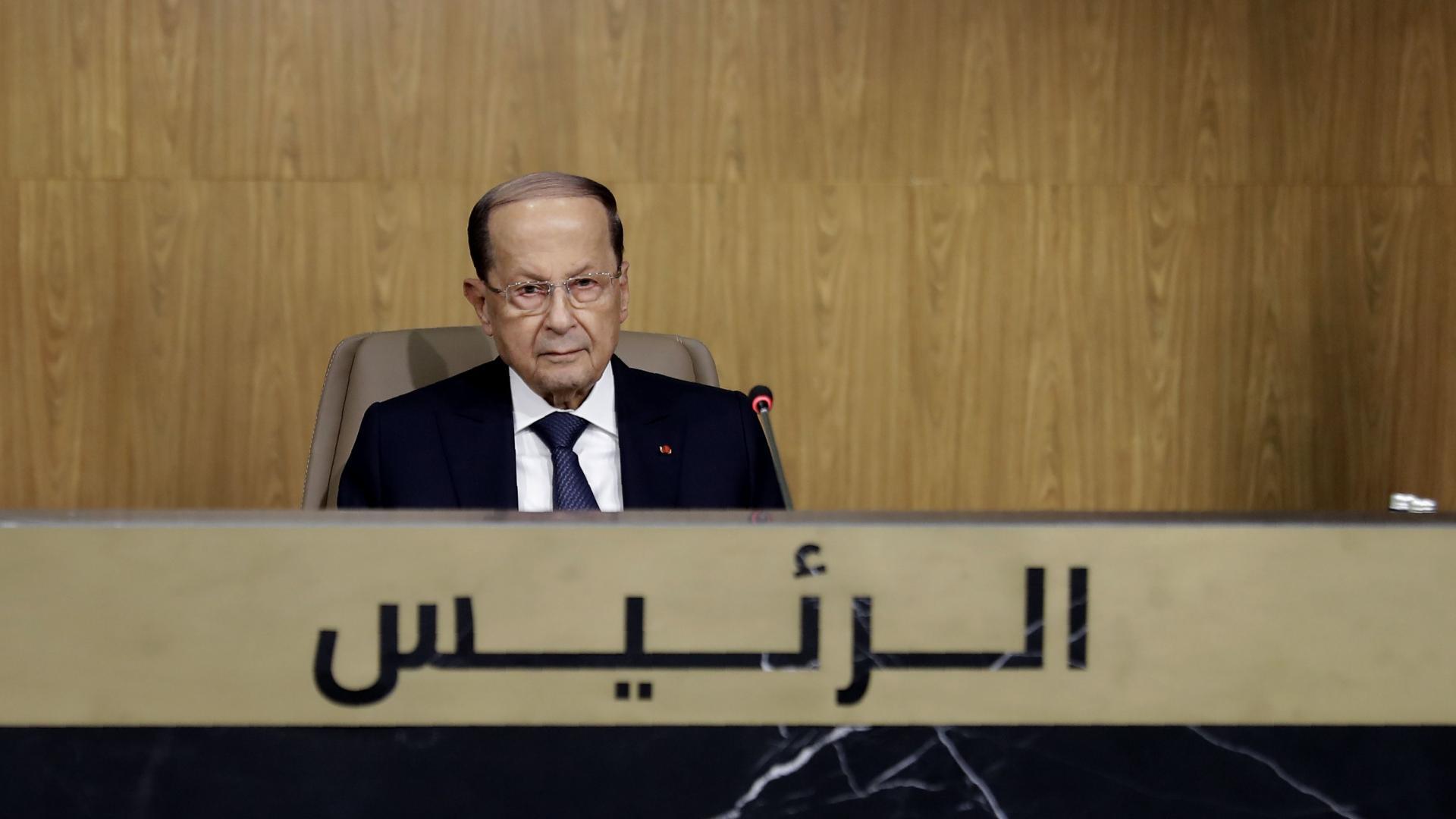 3 زعماء عرب فقط بقمة لبنان الاقتصادية.. من هم؟ وكيف علق رئيس لبنان على ذلك؟