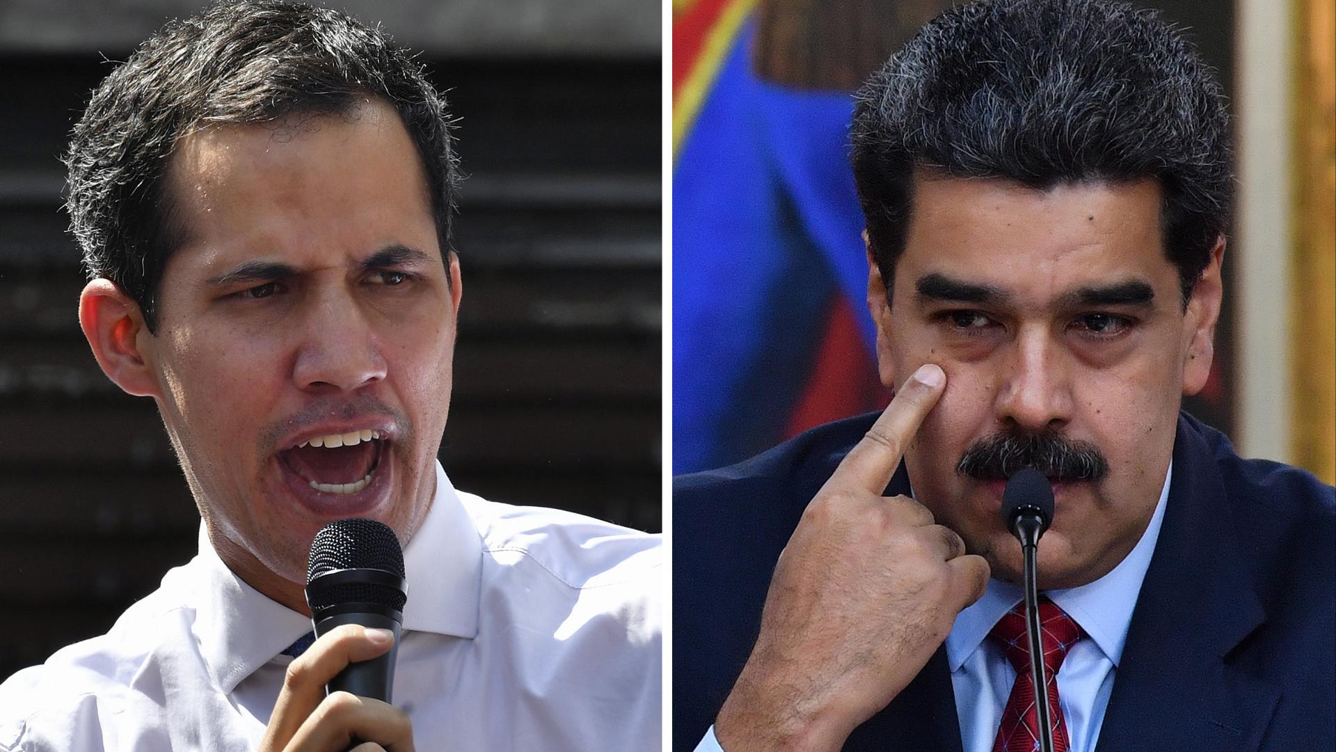 """""""صراع على الشرعية"""" في فنزويلا.. من يدعم الحكومة ومن اعترف بالمعارضة؟"""