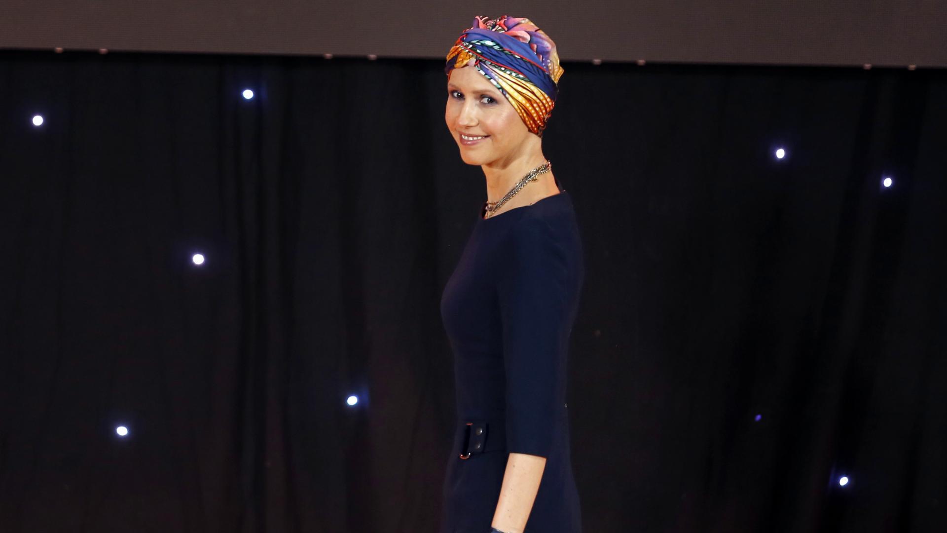 أسماء الأسد تجري عملية جراحية ناجحة لعلاج سرطان الثدي