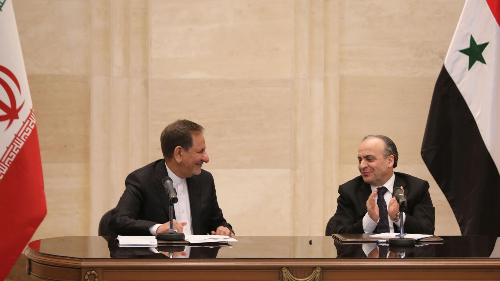 """بينها اقتصادية و """"سينمائية"""".. 11 اتفاقية بين سوريا وإيران في دمشق"""