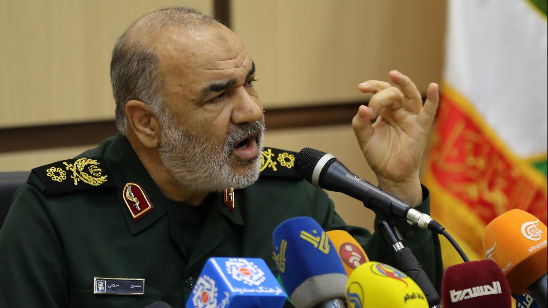 """تهديد """"شديدة اللهجة"""" من نائب قائد الحرس الثوري الإيراني لإسرائيل"""
