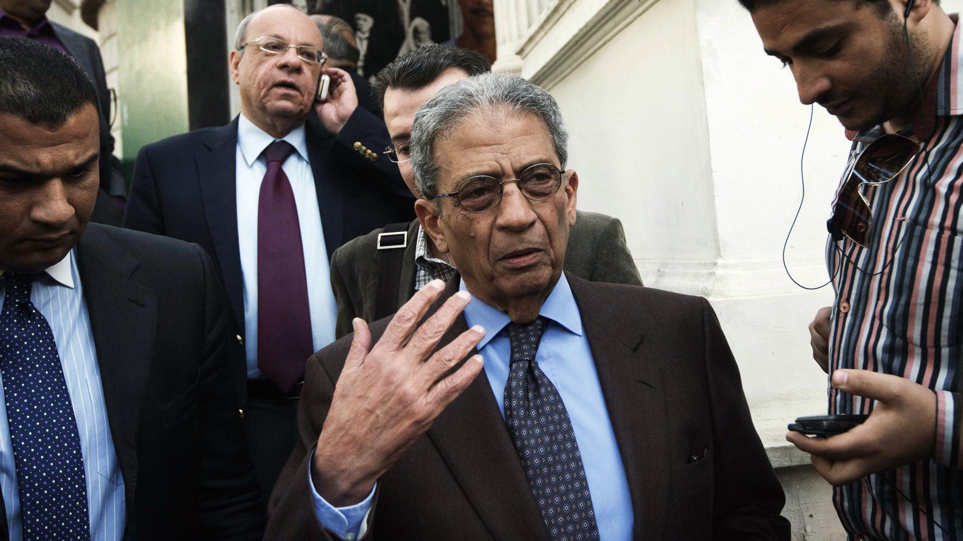 عمرو موسى يتحدث عن سبب عدم قدرته على قبول استمرار حكم الإخوان بمصر