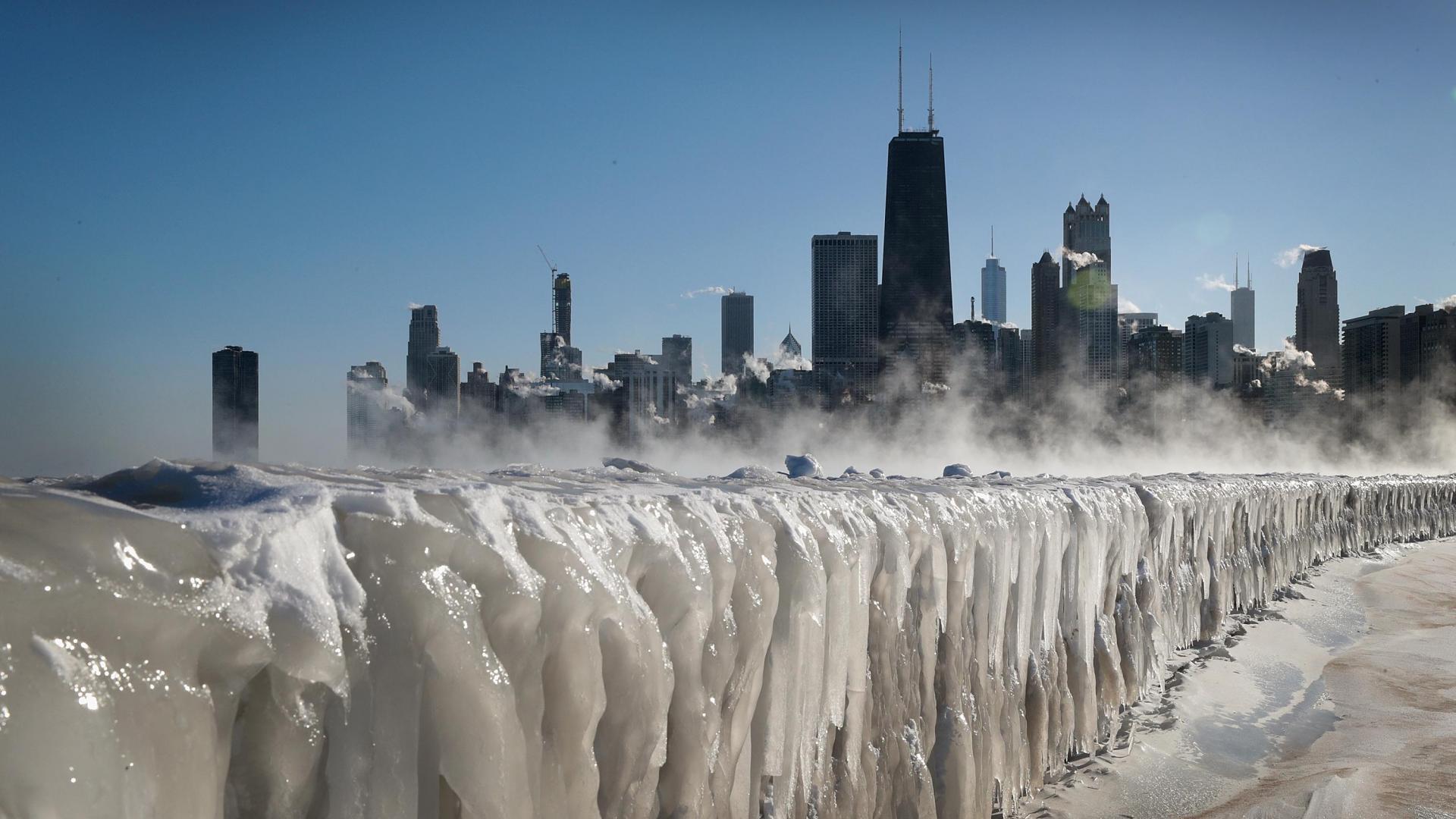 دوامة قطبية تجلب موجة برد لأمريكا لم تشهدها منذ 25 عام