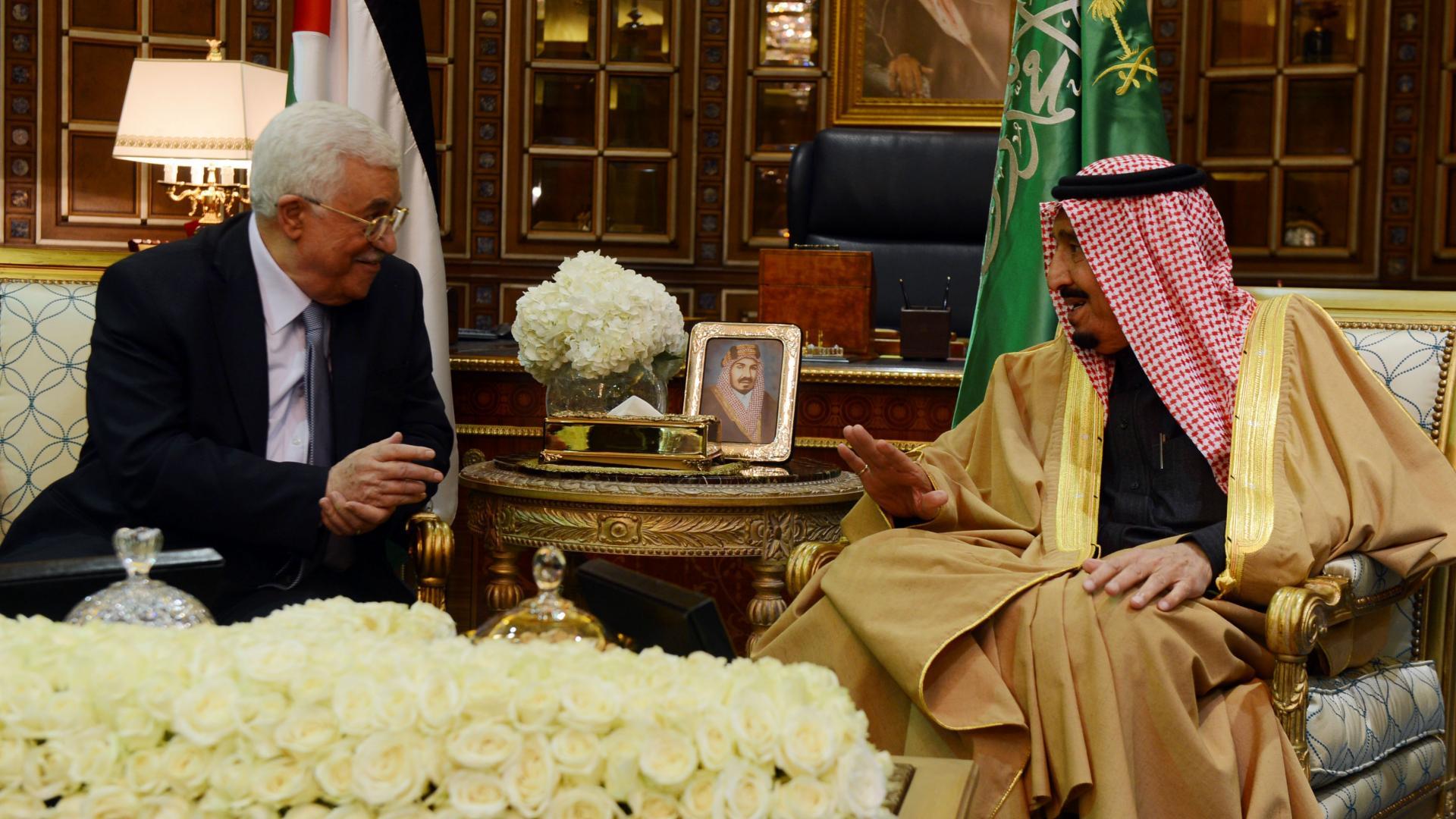 """القدس و""""صفقة القرن"""" على طاولة مباحثات الملك سلمان ومحمود عباس"""
