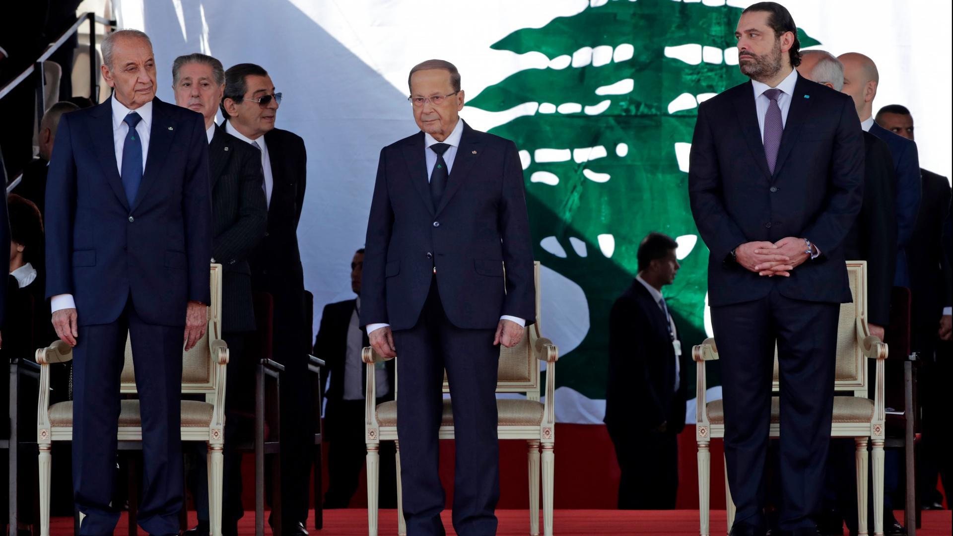 بعد زيارة ظريف إلى لبنان.. عون يستقبل مستشارا بالديوان الملكي السعودي