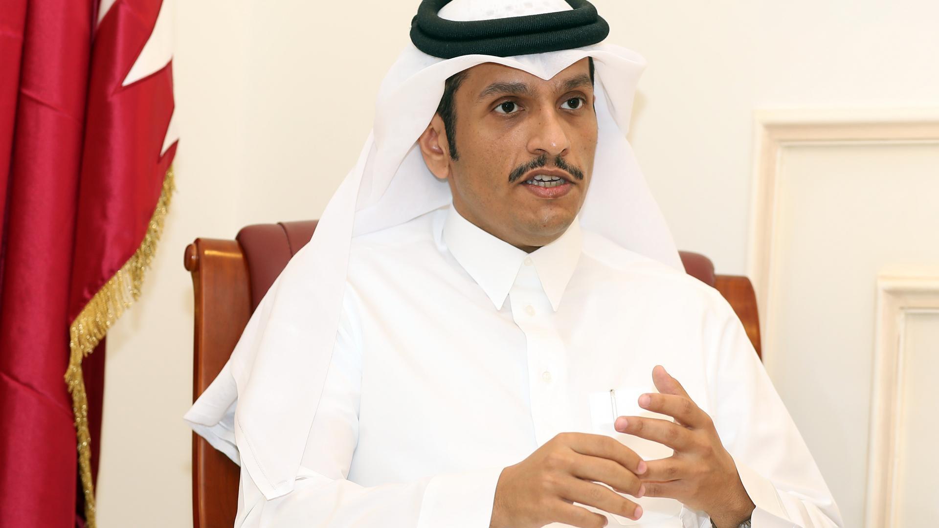 وزير خارجية قطر يتحدث عن أمرين يجب إيجادهما لتحقيق السلام بالشرق الأوسط