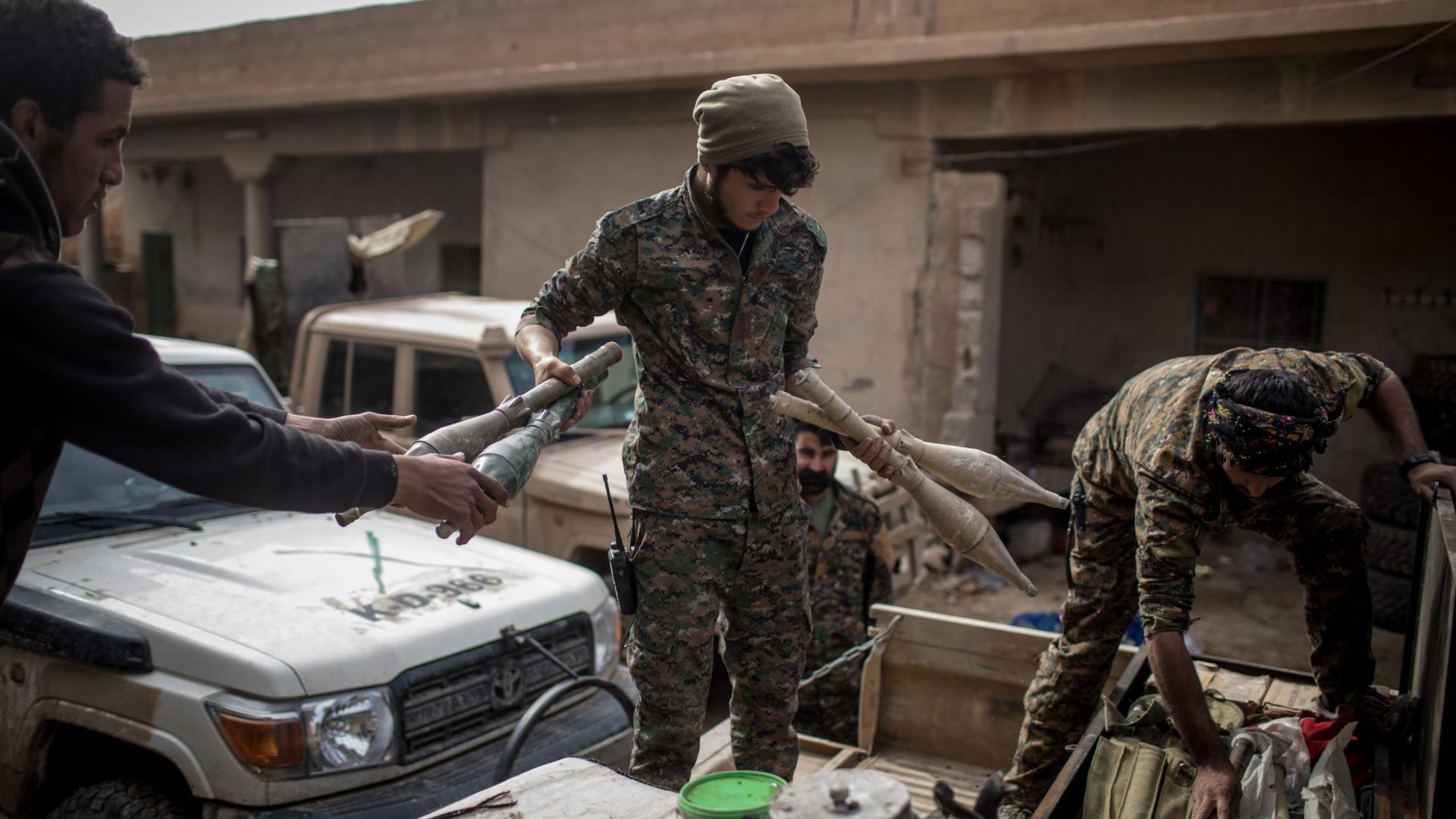 ترامب لم يعلن النهاية بعد.. استمرار المعركة ضد داعش بالباغوز الفوقاني