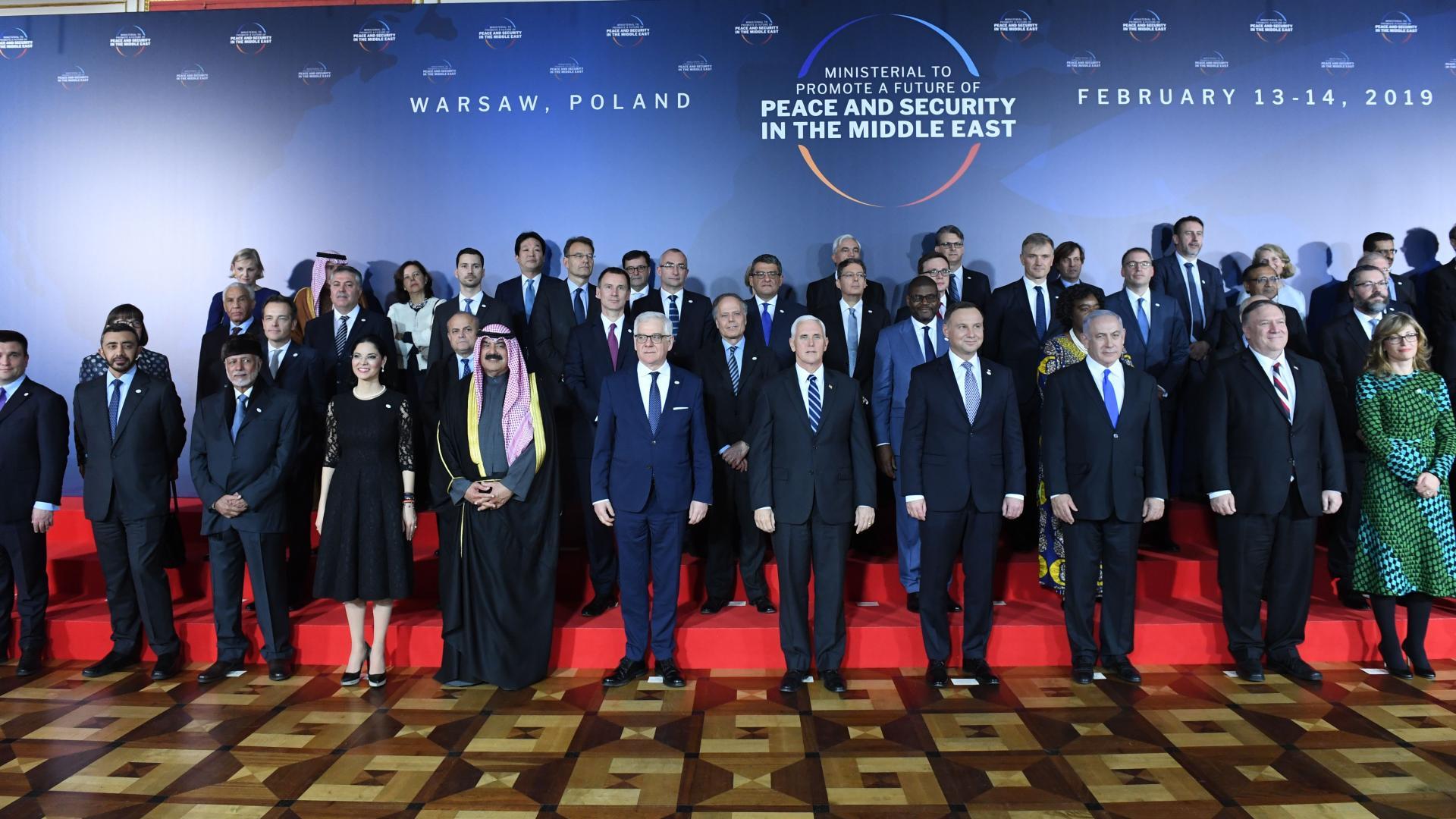 """نتنياهو يكشف """"التغيير الكبير"""" في موقف الدول العربية بقمة وارسو"""