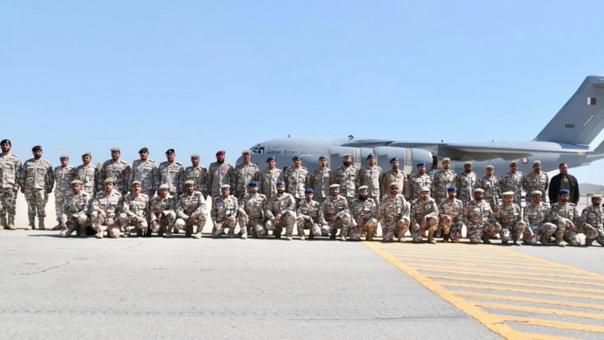 """رغم استمرار الأزمة.. قوات قطرية تصل للسعودية للمشاركة في """"درع الجزيرة"""""""