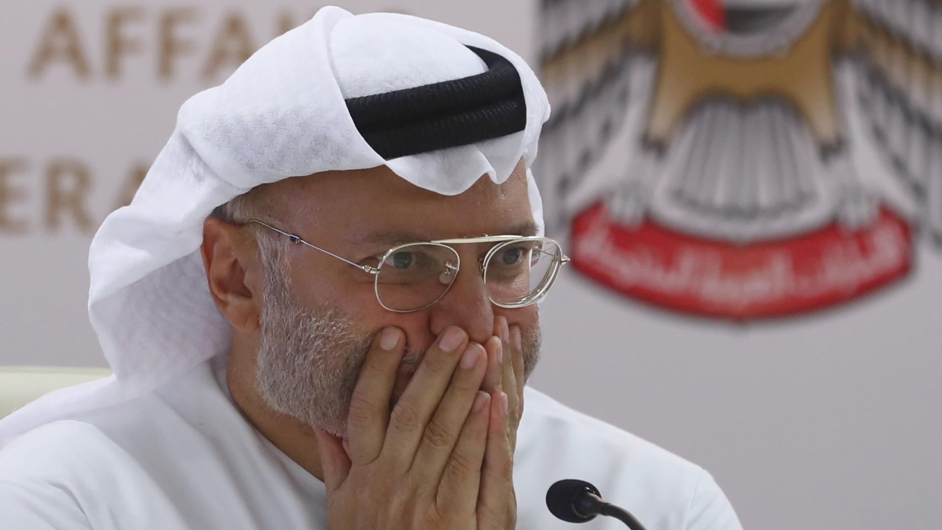 قرقاش: الجهود القطرية للتواصل وللاعتذار للسعودية باءت بالفشل