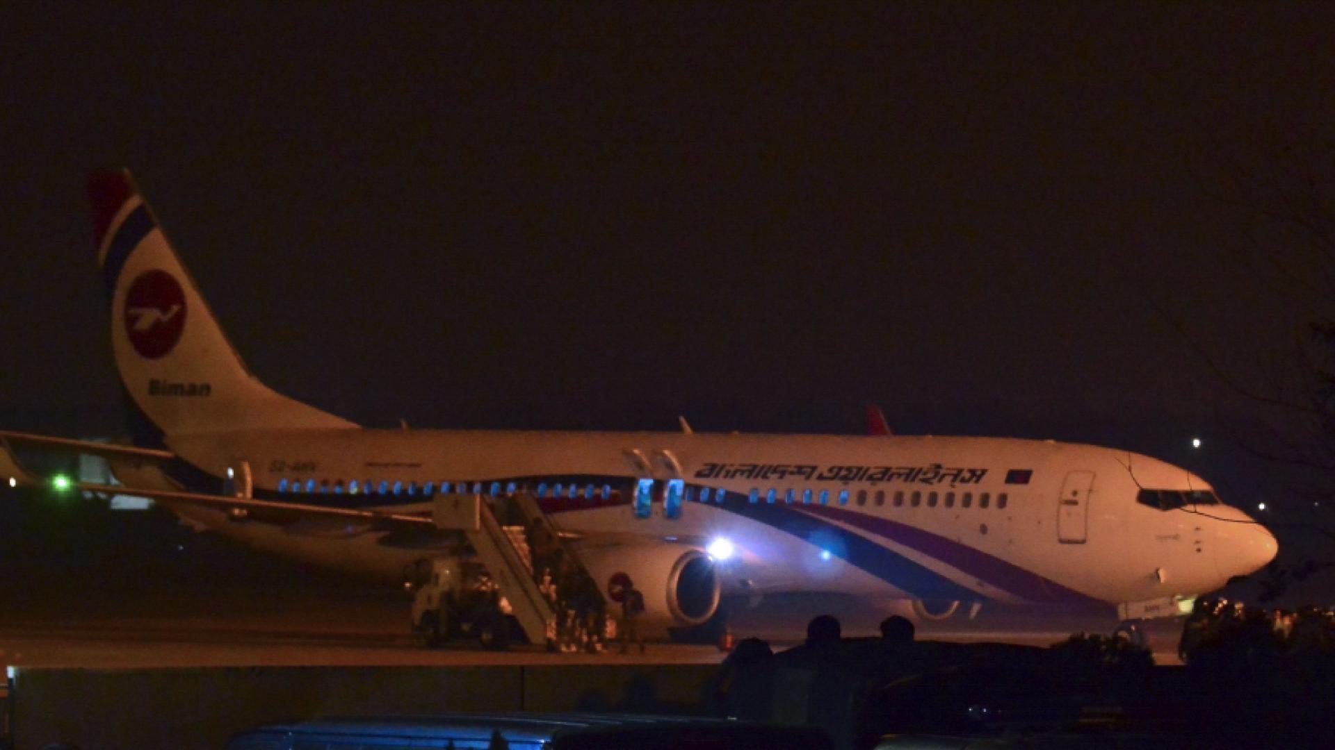 """محاولة اختطاف """"فاشلة"""" لطائرة بنغلادشية خلال رحلة إلى دبي"""