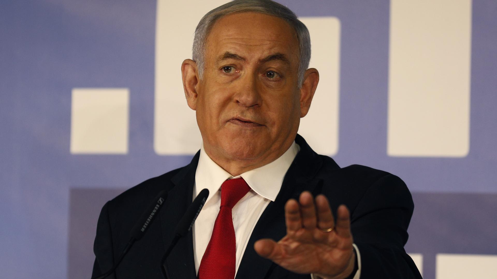 """نتنياهو يرد على اتهامات بـ""""الرشوة والاحتيال وخيانة الأمانة"""""""