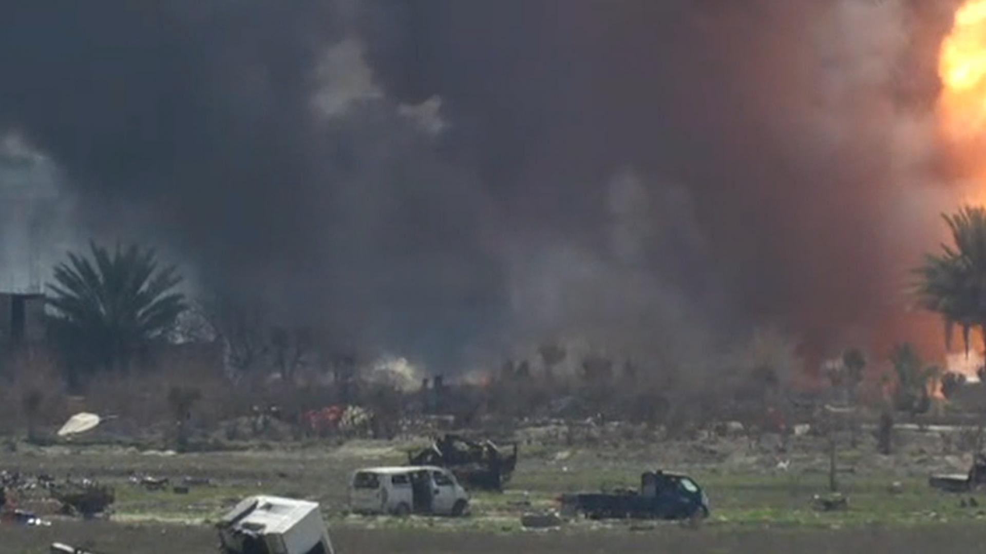 معركة القضاء على داعش.. التنظيم على بعد 500 متر