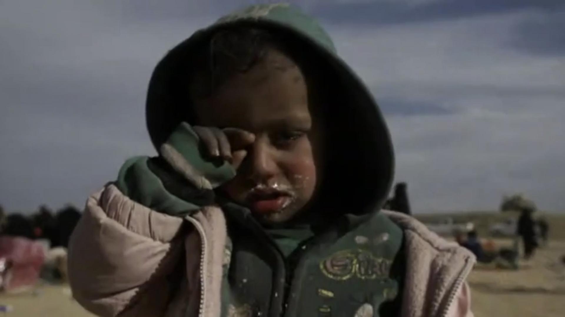 كاميرا CNN ترصد معاناة الفارين من جحيم داعش بسوريا