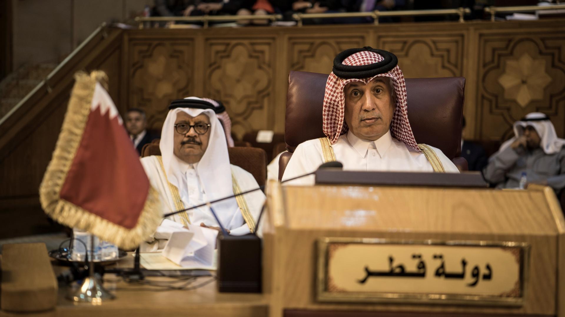 ممثل قطر بالجامعة العربية: اخطار وتحديات محدقة بأمتنا تستدعي حل الخلافات