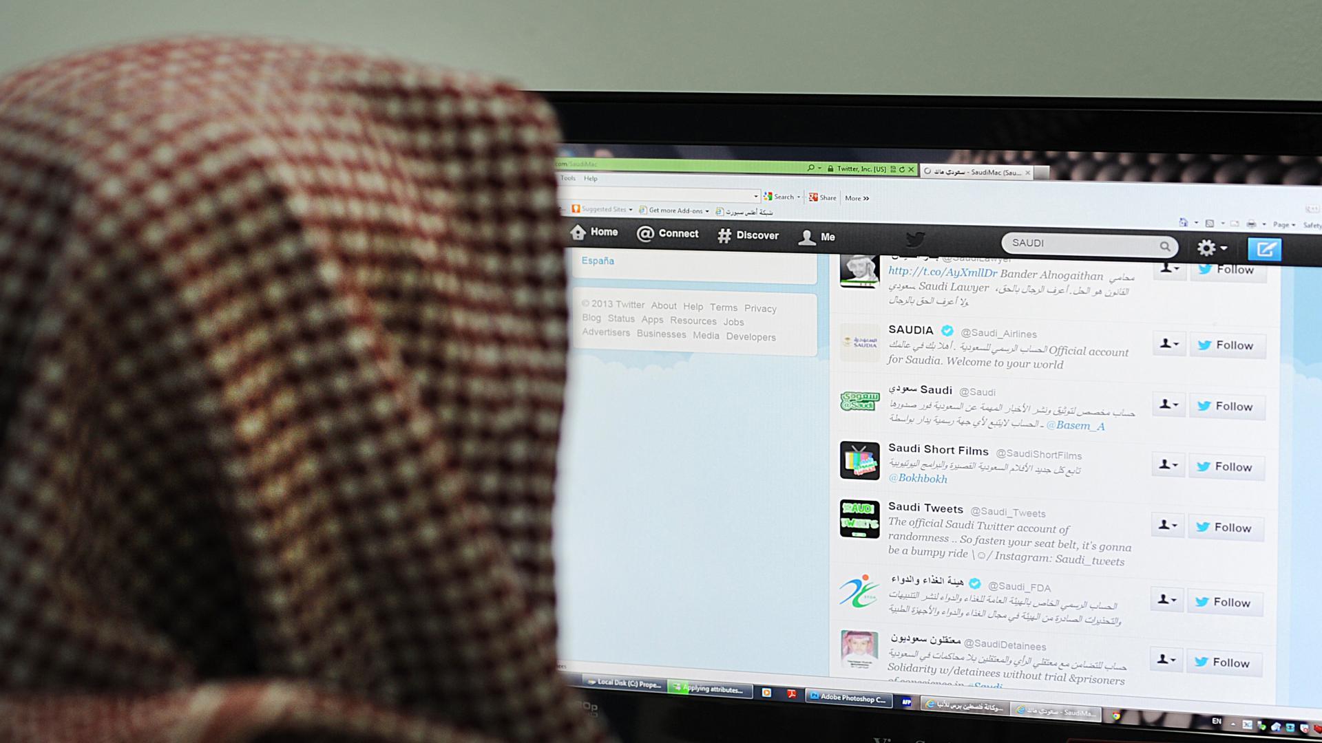 """منها حسابي نيزك ومعتقلي الرأي.. جدل واسع بعد """"كشف"""" الدول الموجهة لحسابات تعادي قادة السعودية.. وهذه طريقة كشفها"""