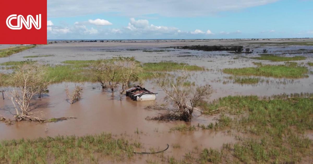 فيديو من الجو يُظهر الدمار الذي خلفه إعصار إيداي في موزمبيق