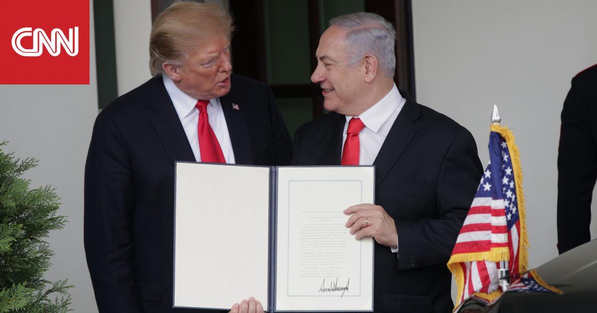 تركيا تعلق على قرار ترامب بالاعتراف بسيادة إسرائيل على الجولان
