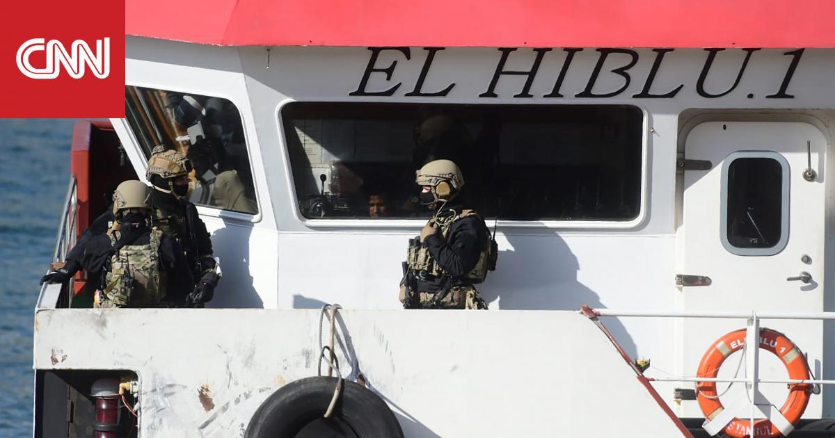 الجيش المالطي يتمكن من الصعود على متن سفينة اختطفت بالمتوسط