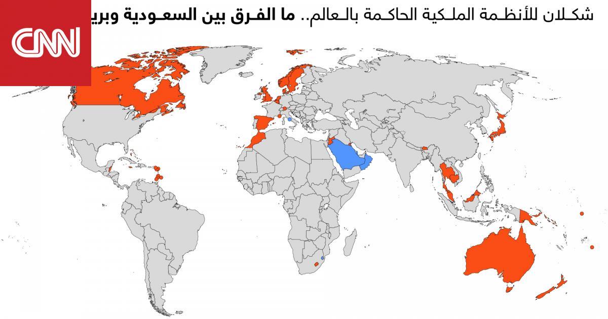 شكلان للأنظمة الملكية الحاكمة بالعالم.. ما الفرق بين السعودية وبريطانيا مثلا؟