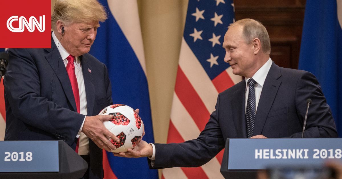 """ترامب بعد اتصال """"جيد جدا"""" مع بوتين: العالم سيصبح أكثر أمنا"""
