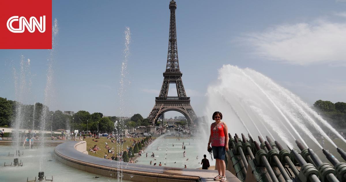 فرنسا تسجل أعلى درجة حرارة في تاريخها