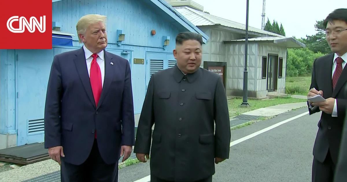 زعيم كوريا الشمالية: ترامب أصبح أول رئيس أمريكي يزور بلادنا.. والأخير: شرف لي