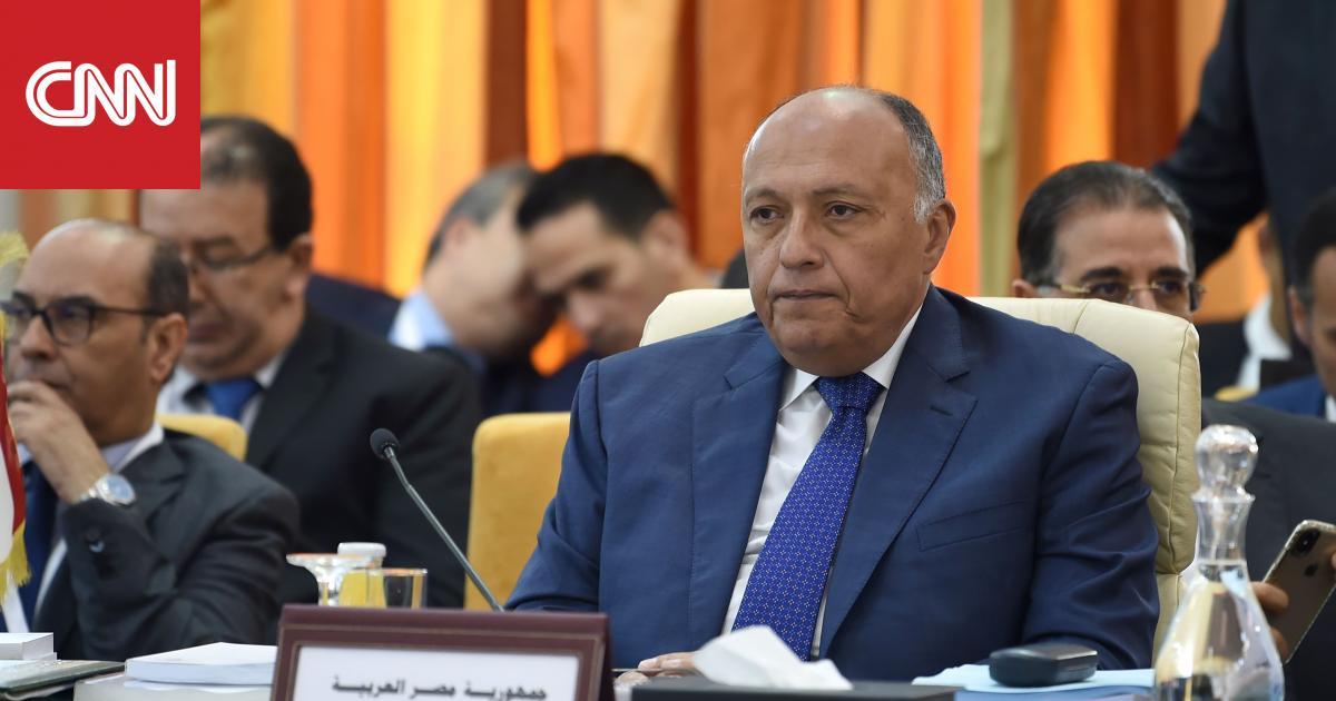 مصر تطالب كافة الأطراف في السودان بضبط النفس والعودة لمائدة المفاوضات