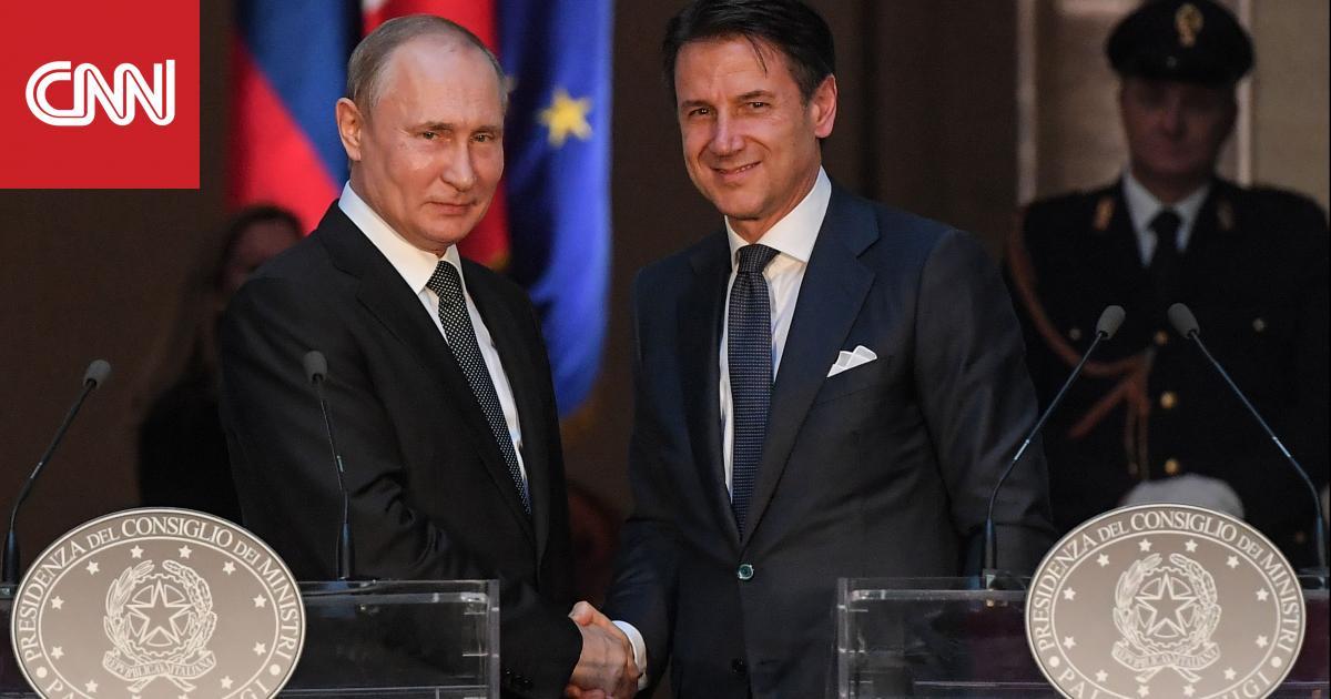 بوتين يدعو إيطاليا للمساعدة في تطبيع علاقات روسيا مع الاتحاد الأوروبي