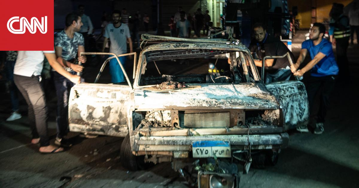 """مقتل 19 شخصا وإصابة 30 إثر انفجار بالقاهرة.. والداخلية: ناجم عن """"تصادم سيارات"""""""