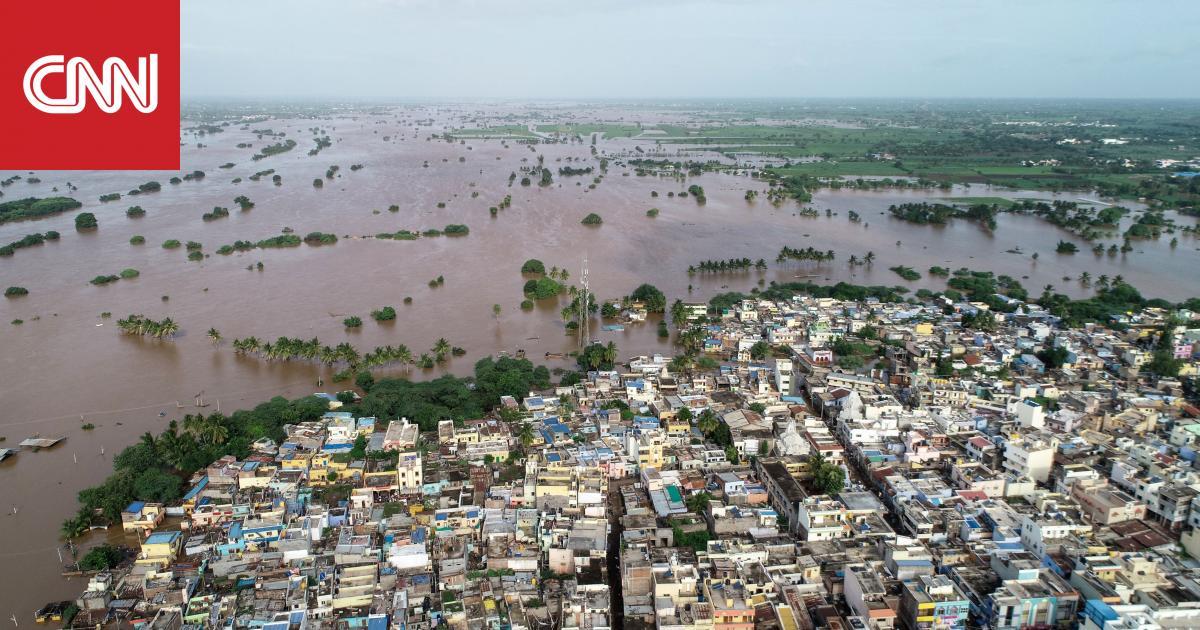 152 قتيلاً في فيضانات الهند بسبب سقوط الأمطار
