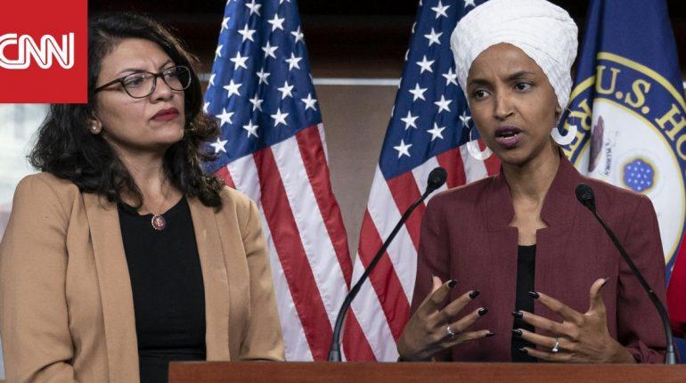 ترامب: نائبتا الكونغرس ضد اليهود.. وطالبت الإسرائيليين بمنعهما